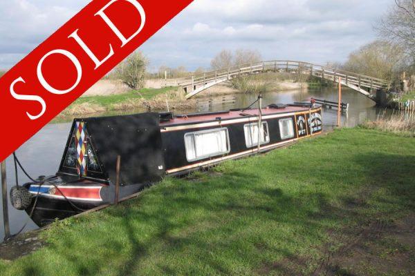 Florrie Narrowboat Sold