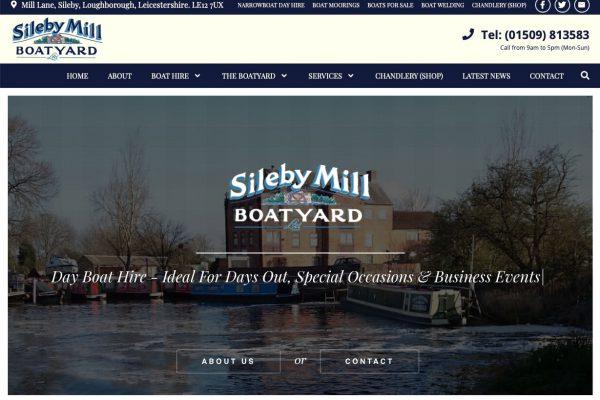 Sileby Mill Boatyard- Narrowboat Day Hire, Chandlery, Moorings, Repairs and Servicing.