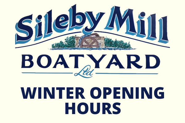 Sileby Mill Winter Opening Times (November to March)